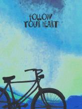 "Style Craft DW32195DS - ""follow your heart"" wall decor"