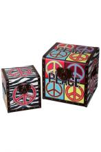 Style Craft SF1631DS - Set 2 Trunks, Peace Theme