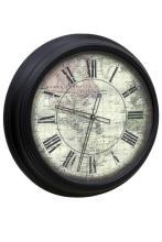 Style Craft WC-1002-DS - METAL WALL CLOCK with vintage face