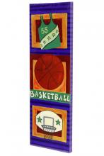 Style Craft WI32160DS - Basketball Hand Embillished Art on Canvas