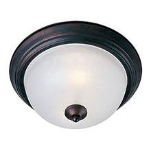 Maxim 5849FTOI - Essentials 2-Light Flush Mount