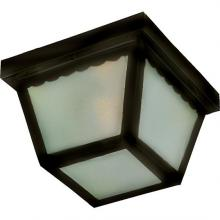 Maxim 6204FTBK - Outdoor Essentials 2-Light Outdoor Ceiling Mount