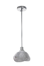 Craftmade 43190-CH-LED - Sector 1 Light LED Mini Pendant in Chrome