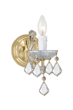 Crystorama 4471-GD-CL-MWP - Crystorama Maria Theresa 1 Light Clear Crystal Gold Sconce I
