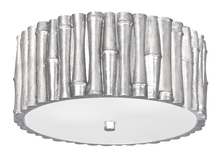 Crystorama 9010-SA - Libby Langdon for Crystorama Masefield 2 Light Antique Silver Ceiling Mount