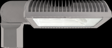 RAB Lighting ALED4T105SFYRG/BL - ALED105 TYPE IV W/ SLIPFITTER WARM LED BILEVEL RD GRAY