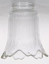 "Satco Products Inc. 50/179 - 2 1/4"" FITTER CLEAR SHADE"