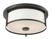 Z-Lite 413F14 - 2 Light Flush Mount