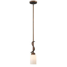 Golden Canada 1051-M1L SBZ-OP - Hidalgo Mini Pendant in the Sovereign Bronze finish with Opal Glass