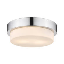 Golden Canada 1270-11 CH - Multi-Family Flush Mount in Chrome with Opal Glass