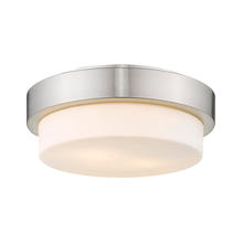 Golden Canada 1270-11 PW - Multi-Family Flush Mount in Pewter with Opal Glass