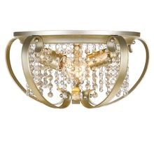 Golden Canada 1323-FM WG - Ella Flush Mount in White Gold