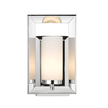 Golden Canada 2074-BA1 CH - Smyth 1 Light Bath Vanity in Chrome with Cased Opal Glass
