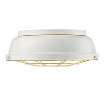 Golden Canada 7312-FM FW - Bartlett Flush Mount in French White