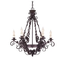 Savoy House Canada 1-4314-6-17 - Bourges 6 Light Chandelier