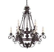 Savoy House Canada 1-4315-9-17 - Bourges 9 Light Chandelier