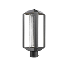 Artcraft AC9093BK - Wexford 1 Light  Black Outdoor Post Light