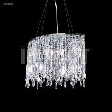 James R Moder 40030S22 - Contemporary Oval Chandelier